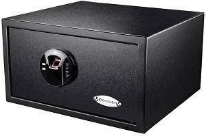Barska biometric keypad safe HQ200