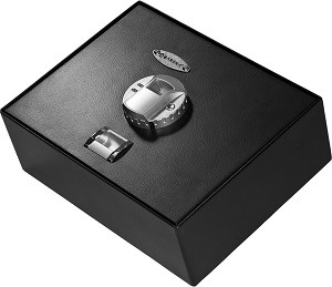 Barska top opening biometric safe AX11556