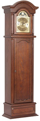 American Furniture Classics 6-Gun Cabinet – 100 Gunfather Clock