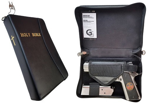 Garrison Grip Leather Concealed Carry Bible Safe