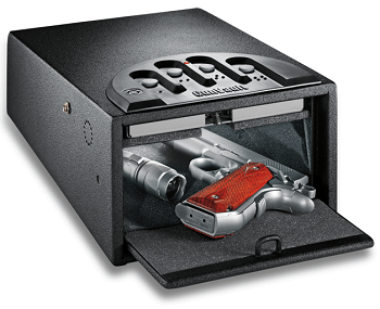 GunVault GV1000 Mini Vault Deluxe Gun Safe