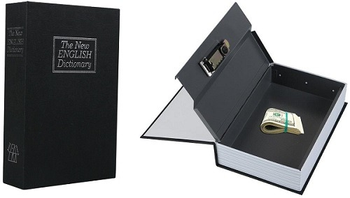 Ohuhu Dictionary Book Gun Safe