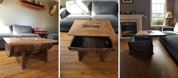 Partiot Promotions Barrel Coffee Table