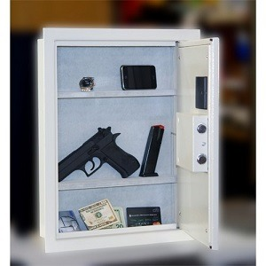 Protex electronic wall safe – PWS-1814E in wall safe
