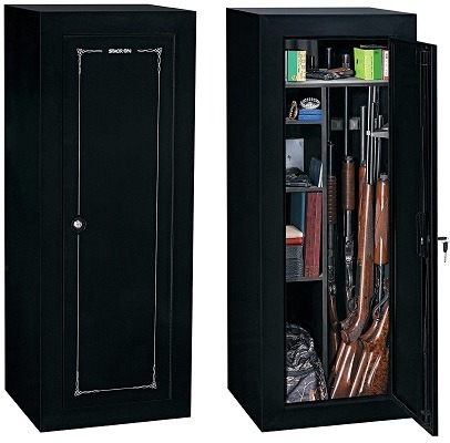 Stack-On 18-Gun Convertible Gun Cabinet
