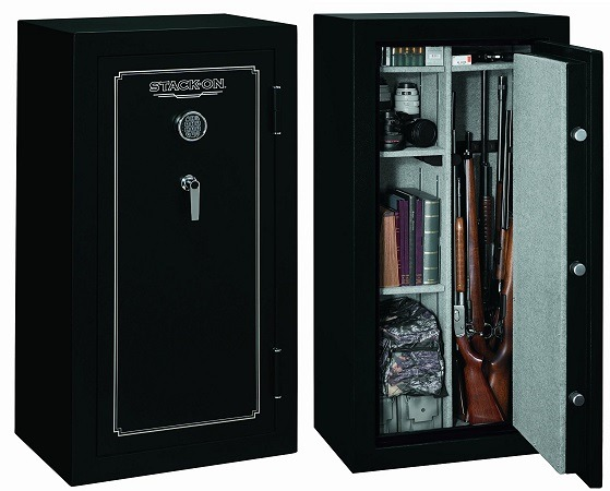 Stack-On Fire Resistant Gun Safe for 24 Guns FS-24-MB-E