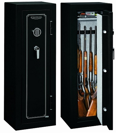 Stack-On Fire Resistant Gun Safe for 8 Guns FS-8-MB-E