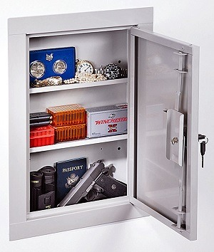 Stack-On IWC-22 in-wall cabinet safe