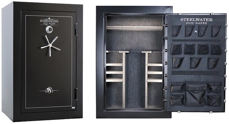 Steelwater Heavy Duty Gun Safe AMLD593924-blk