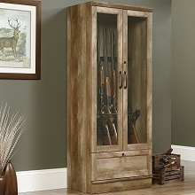 Top 5 Wood Gun Cabinet And Safe (Solid Wood)