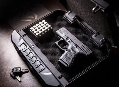 Vaultek VT20i Biometric Handgun Safe Smart Pistol Safe interior