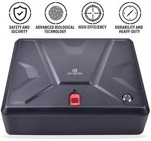 Amarey Portable Pistol Safe