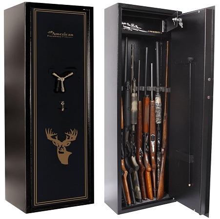 American Furniture Classics 10 Gun Safe