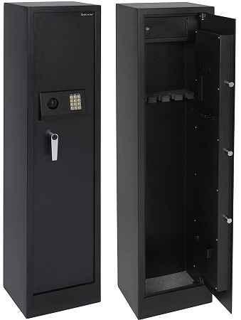 Best Choice Products 5 Rifle Safe & Best Metal Gun Cabinet u0026 Safe Models Reviews | Gun Safe Tips