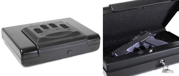 First Alert Portable Pistol Safe 5200DF