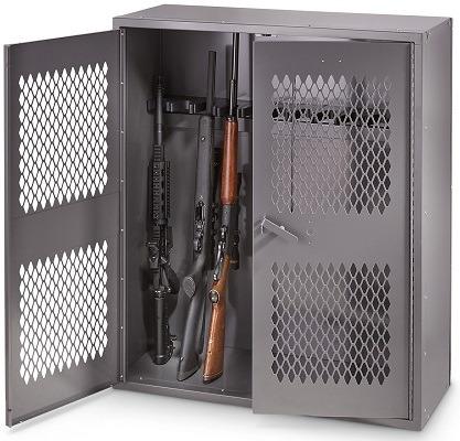 HQ ISSUE Metal Gun Locker