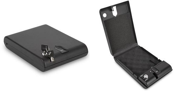 Ivation Biometric Gun Safe for Car