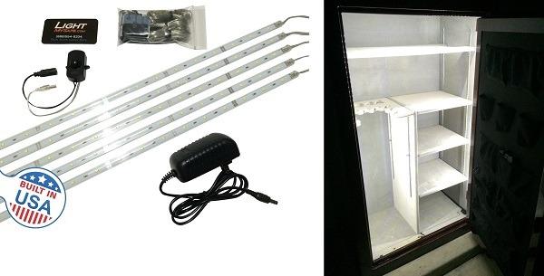 Light My Safe Gun Safe Lighting Kit – 5 Pack