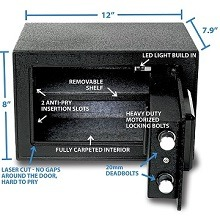Mini Gun Safe: Secure Your Pistol Properly