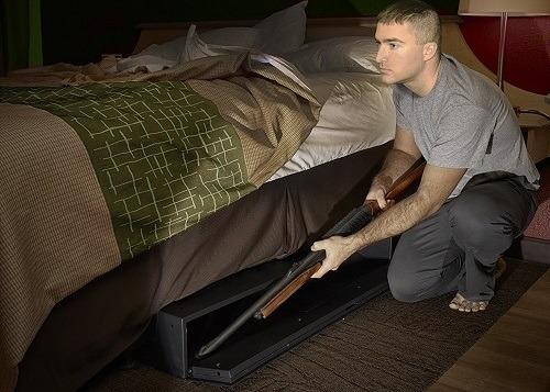 Single Gun, Pistol & Rifle Safe