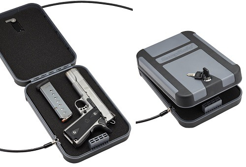 SnapSafe Treklite Lockbox with Key