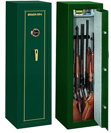 Stack-On 10 Gun Safe in Hunter Green