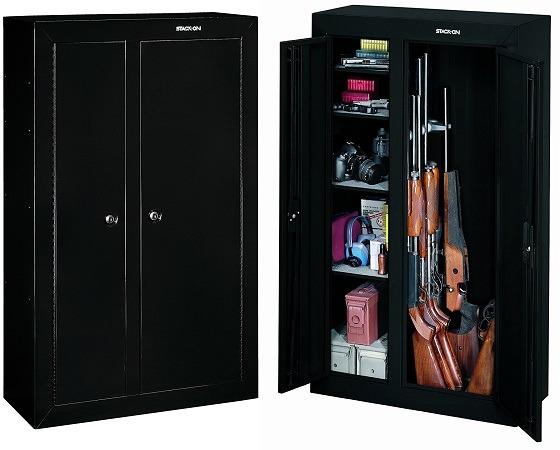 Stack-On Double Door 10 Gun Cabinet