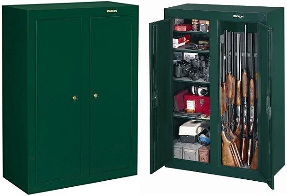 Stack-On Double Door Security Cabinet GCDG-9126