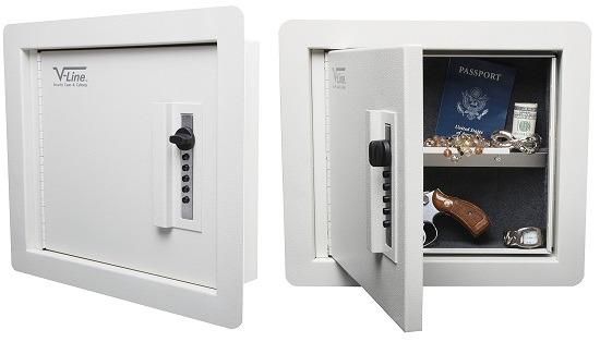 V-Line In-Wall Gun Safe With Mechanical Lock