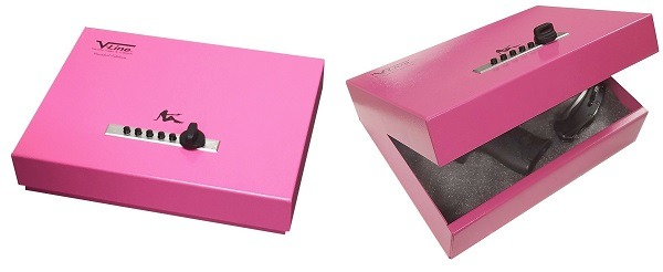 V-Line Top Draw Gun Safe Pink