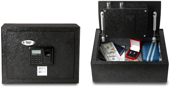 Viking Biometric Safe With Top Door VS-14BL