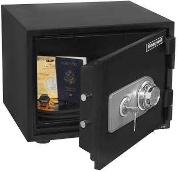 Honeywell Fireproof & Waterproof Safe 2101