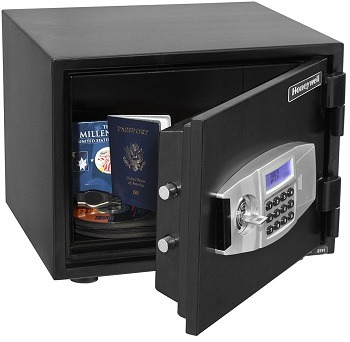 Honeywell Steel Fire and Security Safe 2111