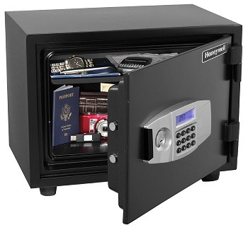 Honeywell Steel Fire and Security Safe 2113