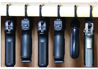 Safety Storage Hanger Gun Safe Rack