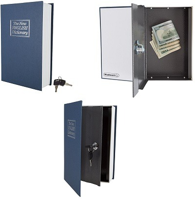Stalwart Lock Box With Key – Diversion Book
