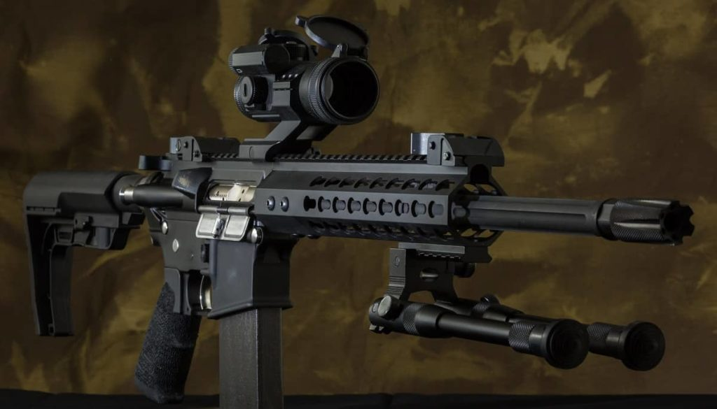 Where to Mount Red Dot Sight on AR-15 - gunsafetips.com
